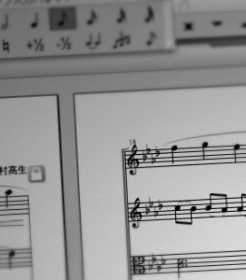 ◆ピアノとバイオリン×2とチェロの編曲(朧月夜)