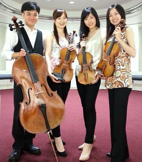 Quartet de 甘茶(カルテット・デ・アマティ)
